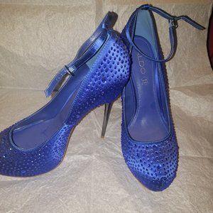 Aldo - Ruthe - Sapphire Blue/Rhinestone Stilettoe